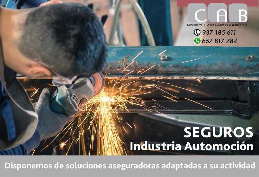 Seguros Industria Automoción - CAB Corredoria Seguros Baricentro
