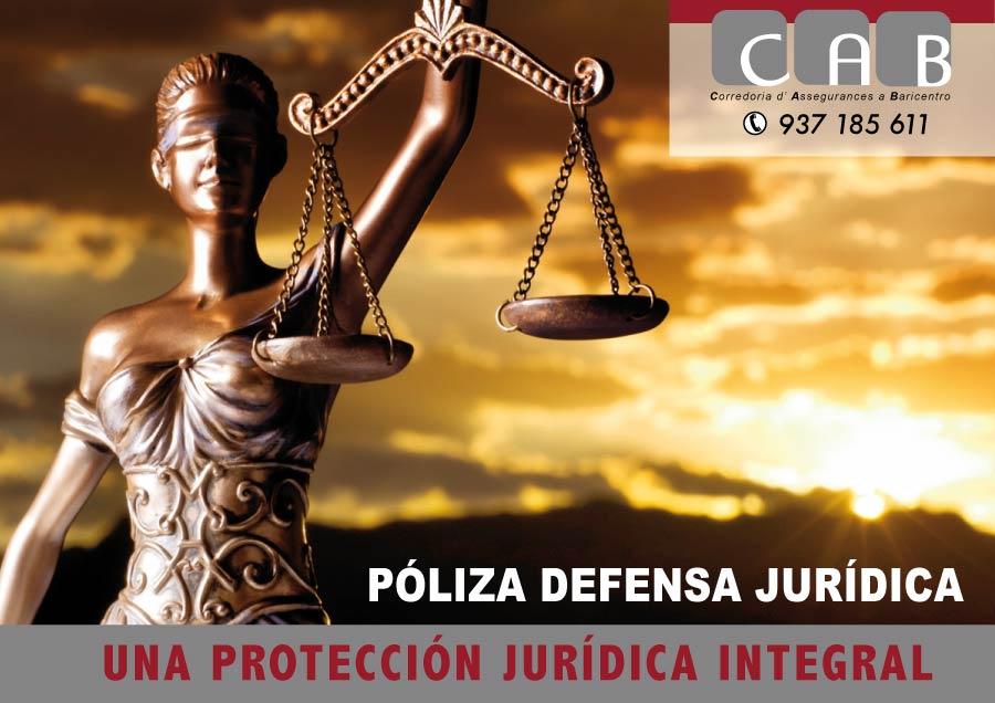 Póliza Defensa Jurídica. CAB Corredoria Seguros Baricentro
