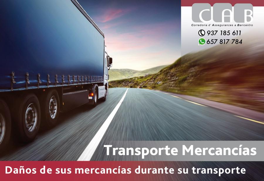 Transporte Mercancías - CAB Corredoria Seguros Baricentro