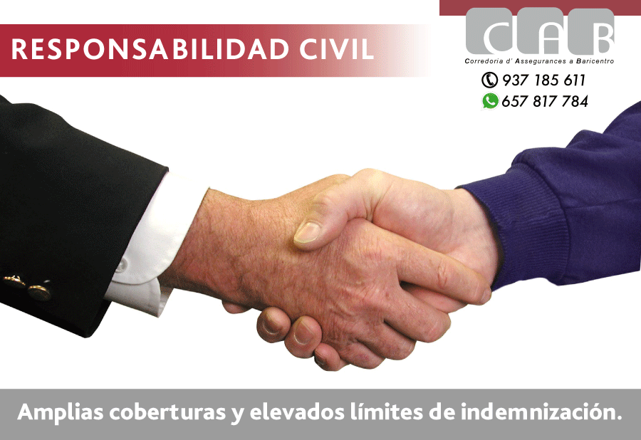 Seguro Responsabilidad Civil - CAB Corredoria Seguros Baricentro