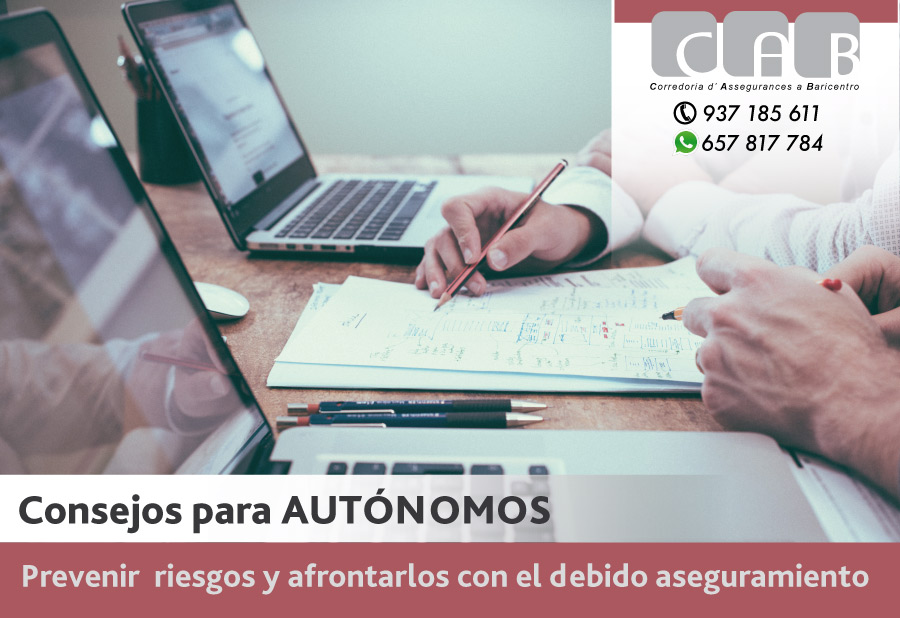 Consejos para autónomos - CAB Correduría Seguros Baricentro - Photo by Helloquence on Unsplash