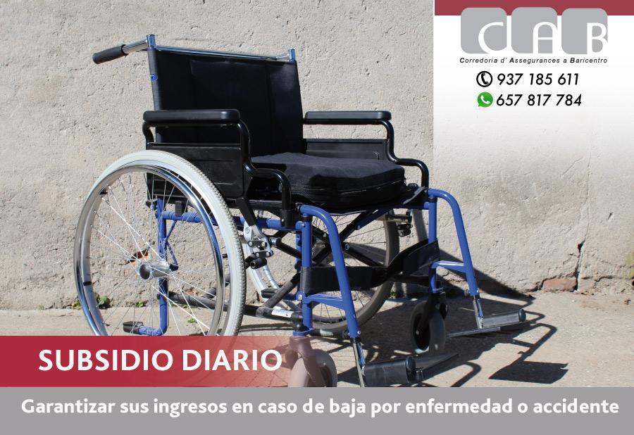 Subsidio Diario - CAB Correduría Seguros Baricentro
