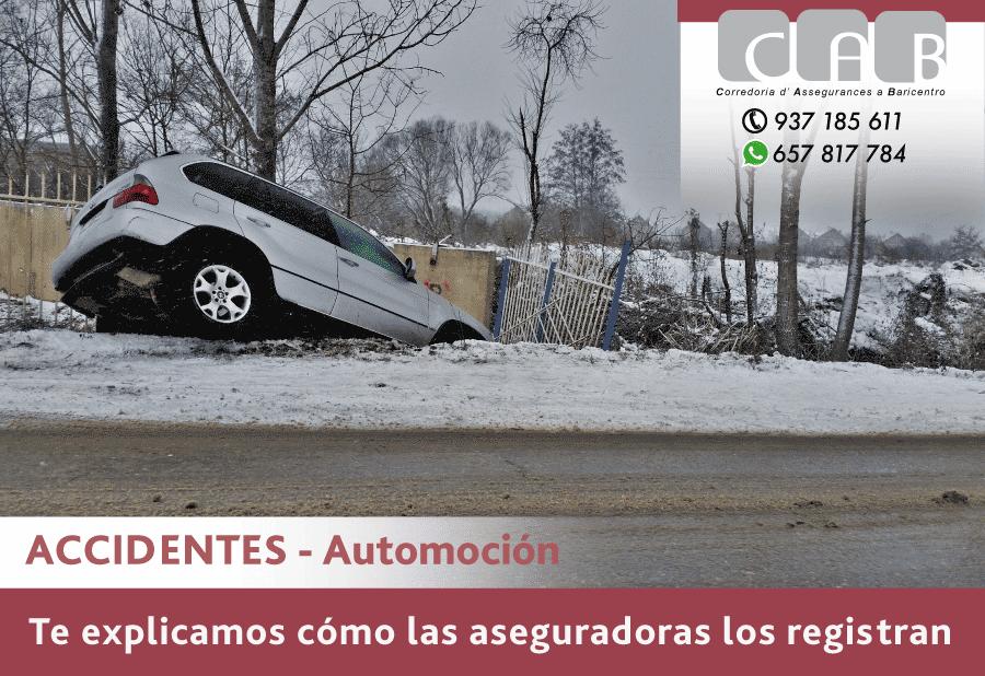 Accidentes - Automoción: cómo las aseguradoras los registran - CAB Correduría Seguros Baricentro
