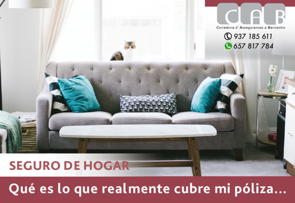 SEGURO de HOGAR coberturas #CABcorreduriaSegurosBaricentro - Photo by Nathan Fertig on Unsplash