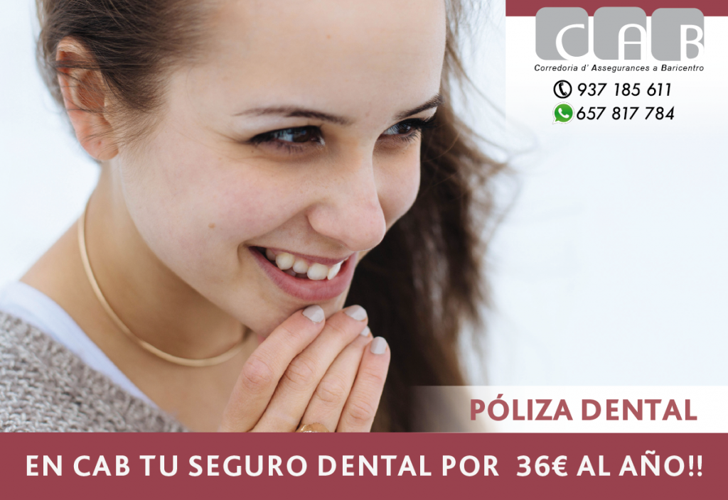 Póliza dental - CAB Correduría Seguros Baricentro - Photo by Shannon Litt on Unsplash