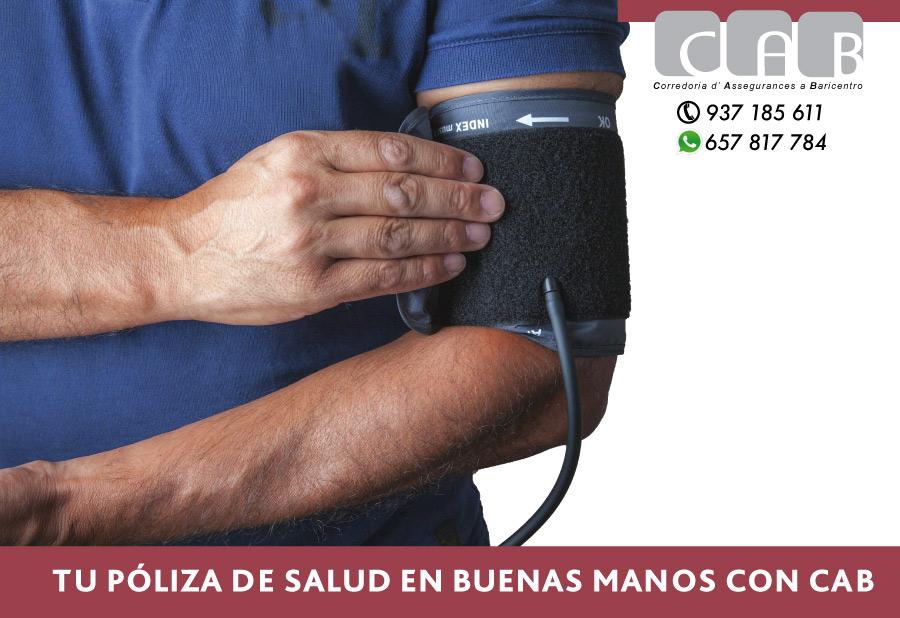Tu póliza de salud en buenas manos con CAB Correduría Seguros Baricentro