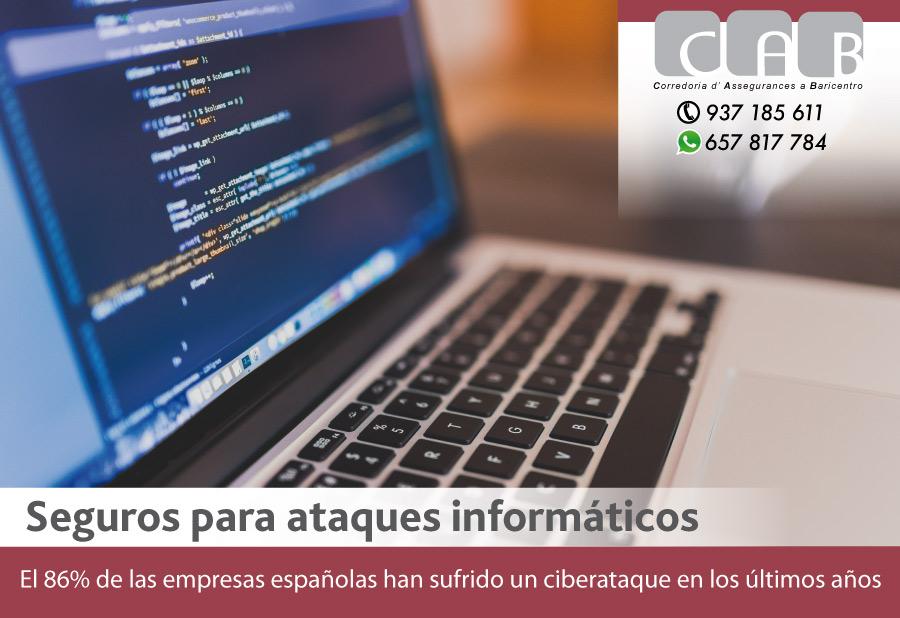 Seguros para atques informáticos - CAB Correduría Seguros Baricentro