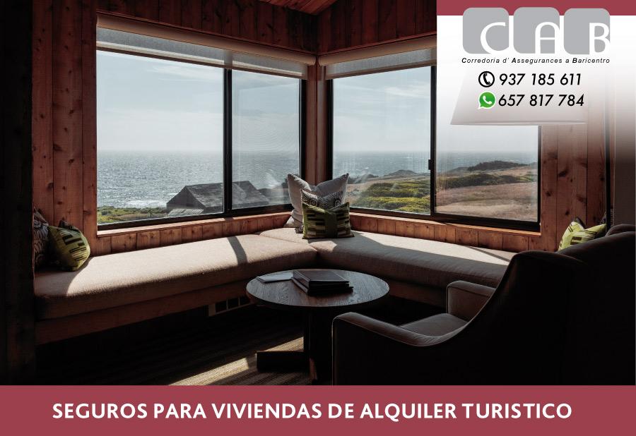 Seguros para viviendas de alquiler turístico - CAB Correduria Seguros Baricentro