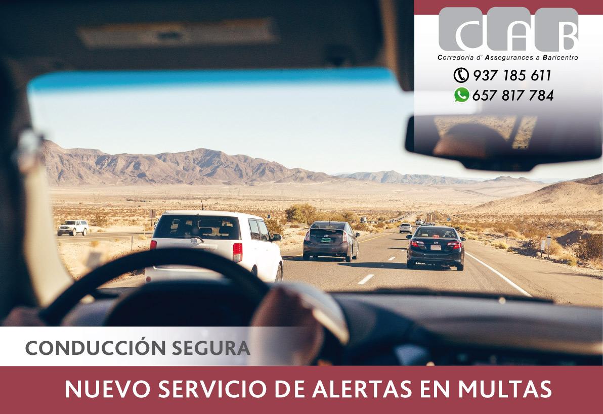 Nuevo servicio de alertas en multas - CAB Correduría Seguros Baricentro