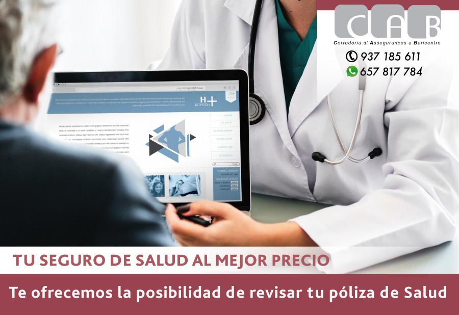 Tu seguro de Salud al mejor precio - CAB Correduria Seguros Baricentro