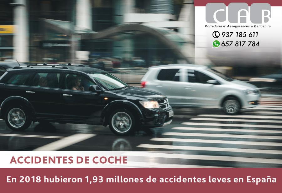 Accidentes de coche - CAB Correduría Seguros Baricentro