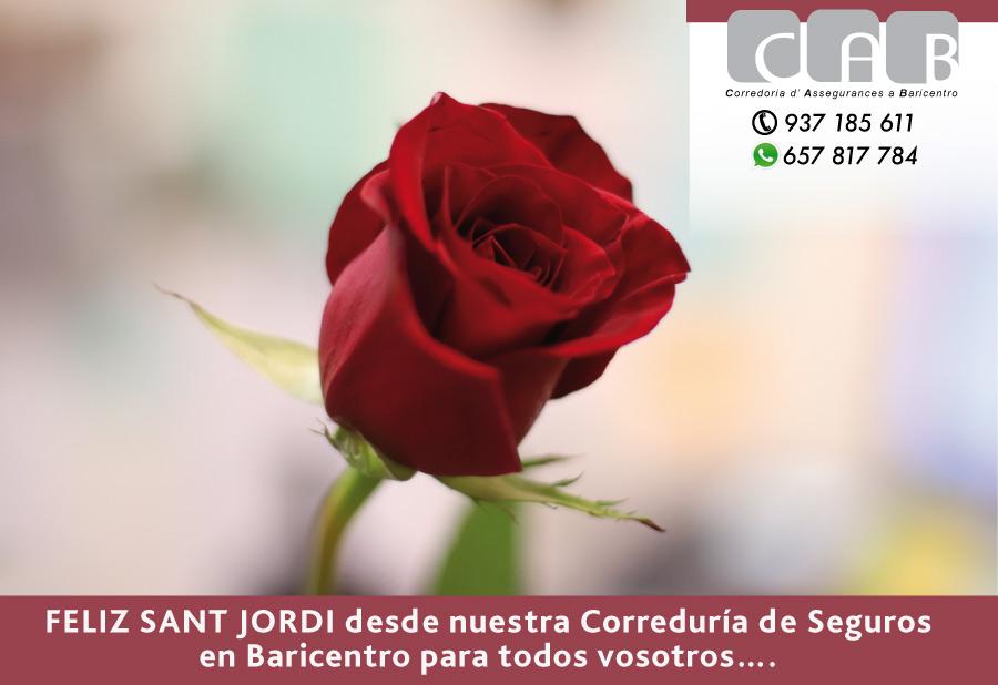SANT JORDI, CELEBRACIÓN EL DIA 24DE ABRIL