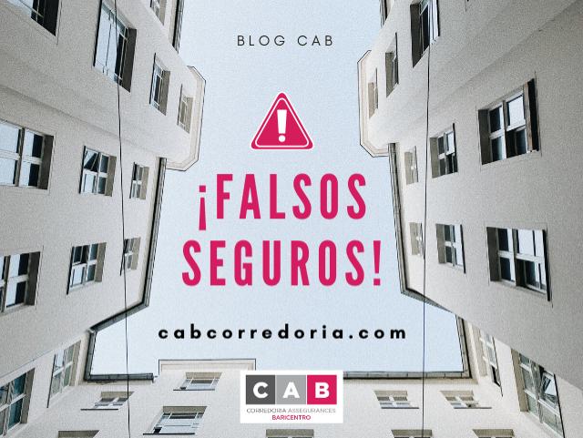 FALSOS SEGUROS VIVIENDAS